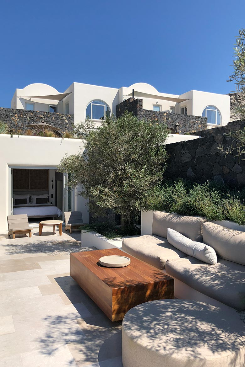Canaves Epitome Oia Hotel Review Santorini Greek Islands Pool Villa
