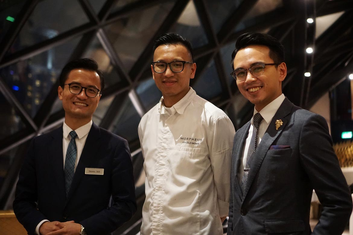 yi morpheus macau macao city of dreams restaurant review