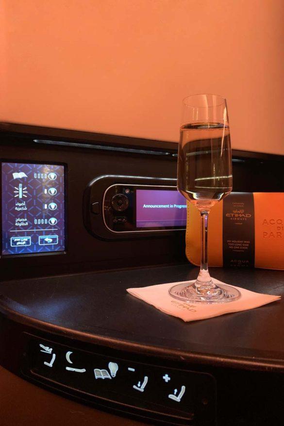 Etihad a380 business class review