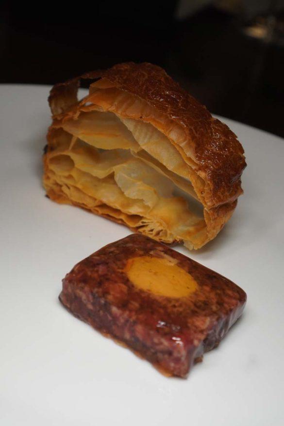 air bread pate en croute by enigma Barcelona Albert adria