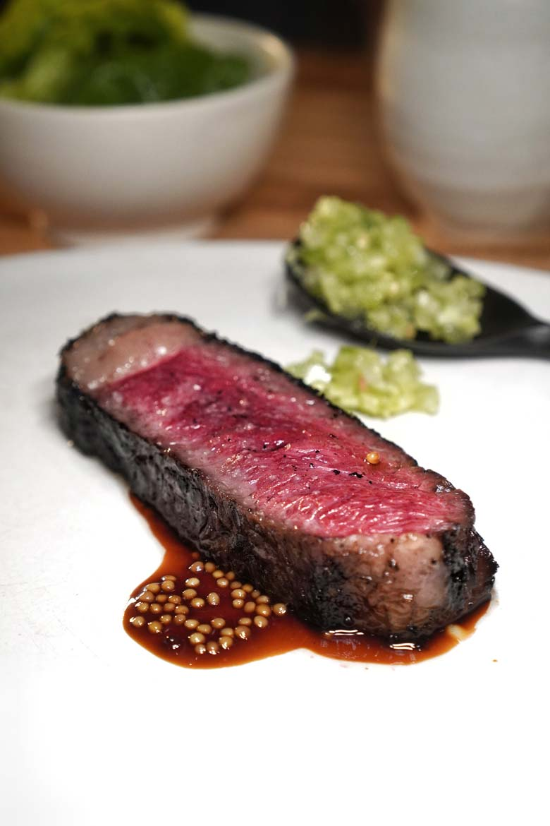 Pasture's famous flame grilled wagyu Auckland review