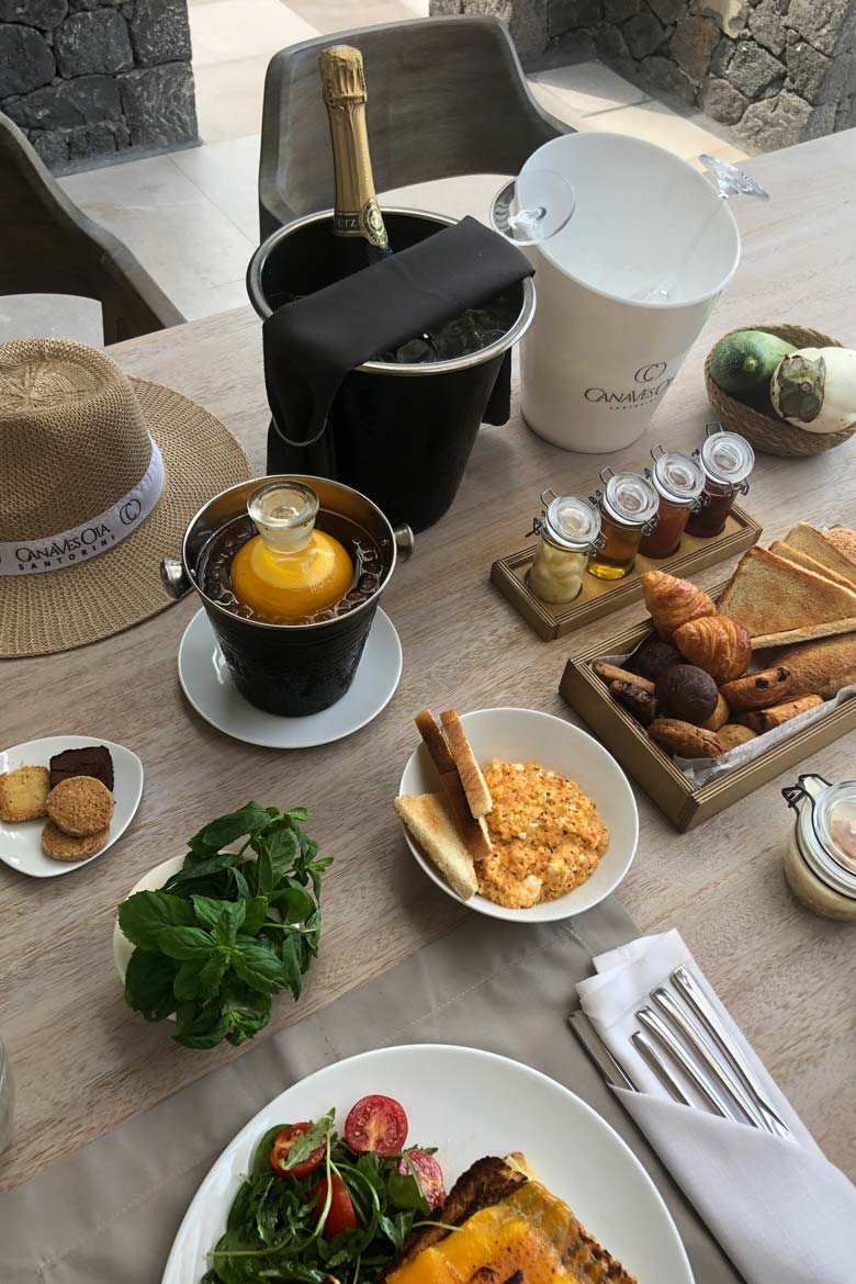 Canaves Epitome Oia Santorini Review