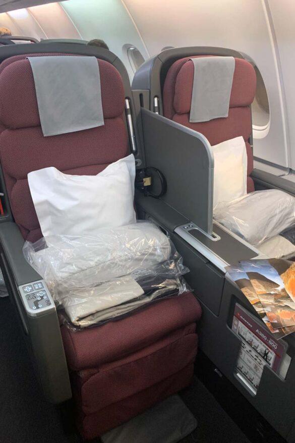 qantas business class A380 review