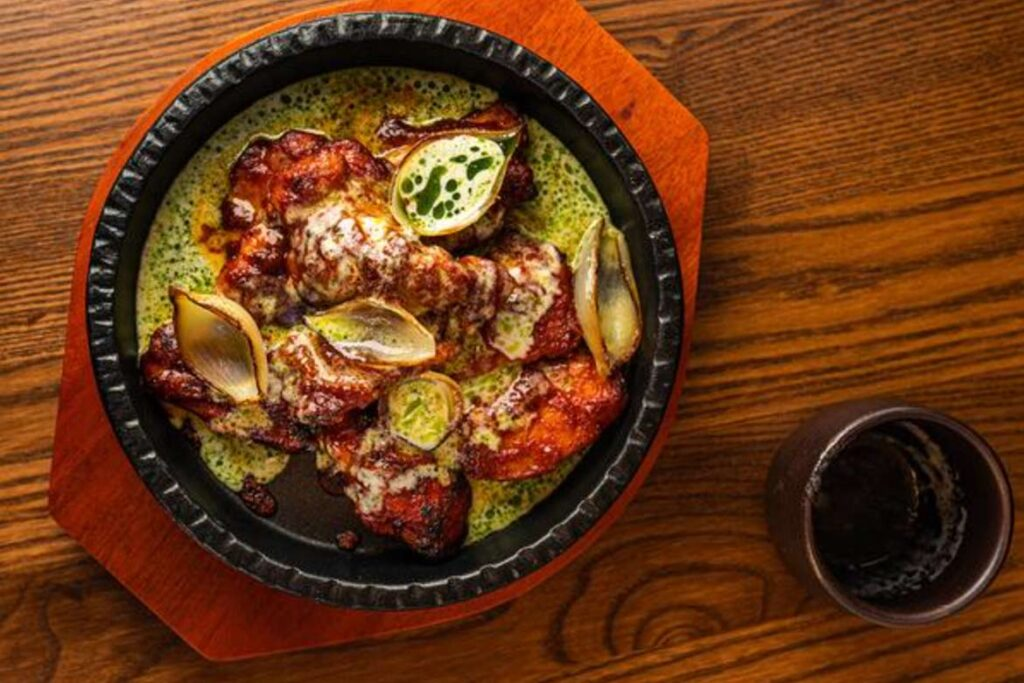 gochu charred korean chicken recipe