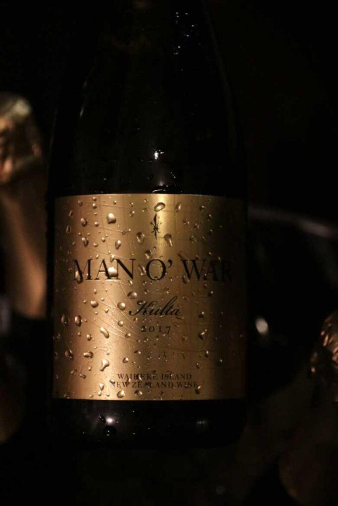 man o war Waiheke Island wines Kulta family series