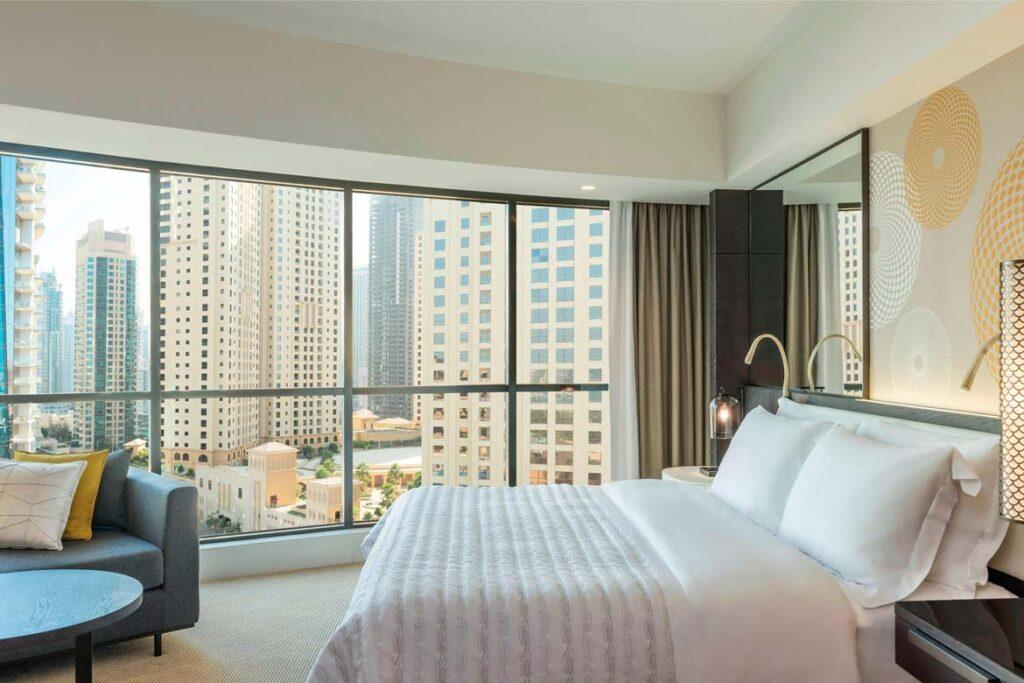 le royal Meridien dubai marina hotel review staycation