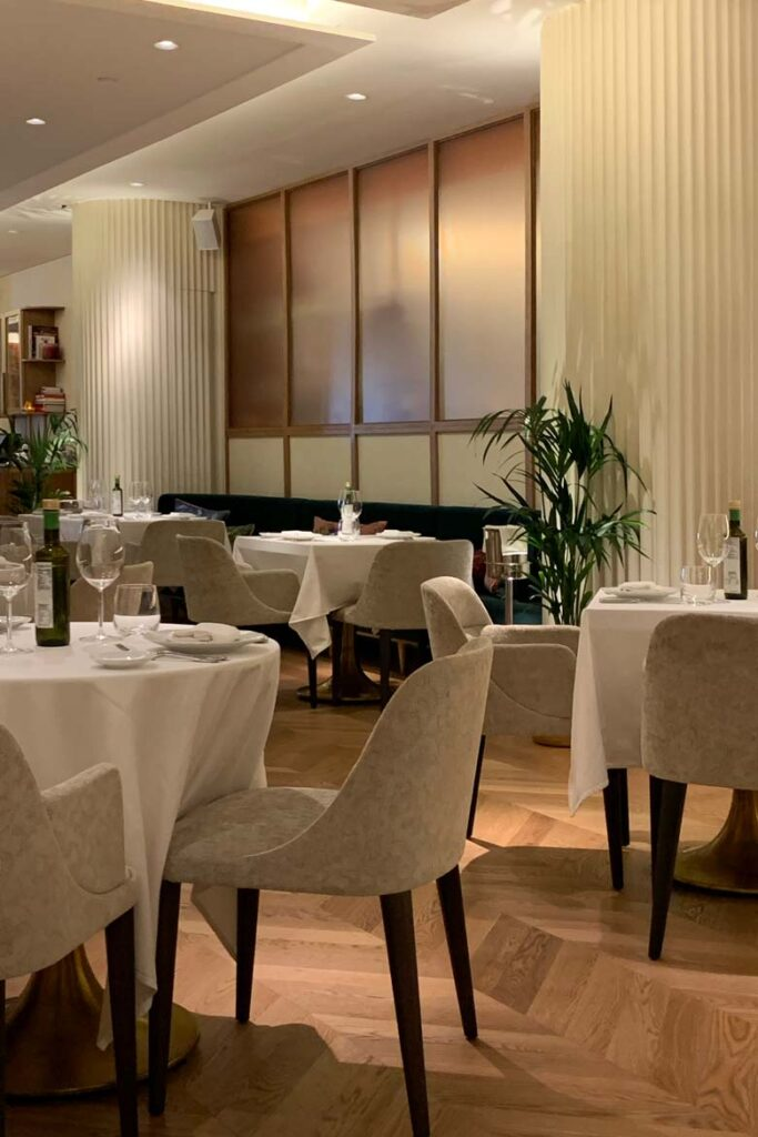 the artisan dubai Italian restaurant reviedw