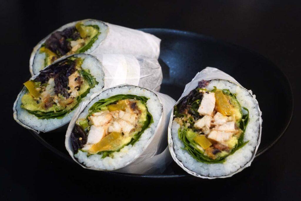 maui poke sushi burrito
