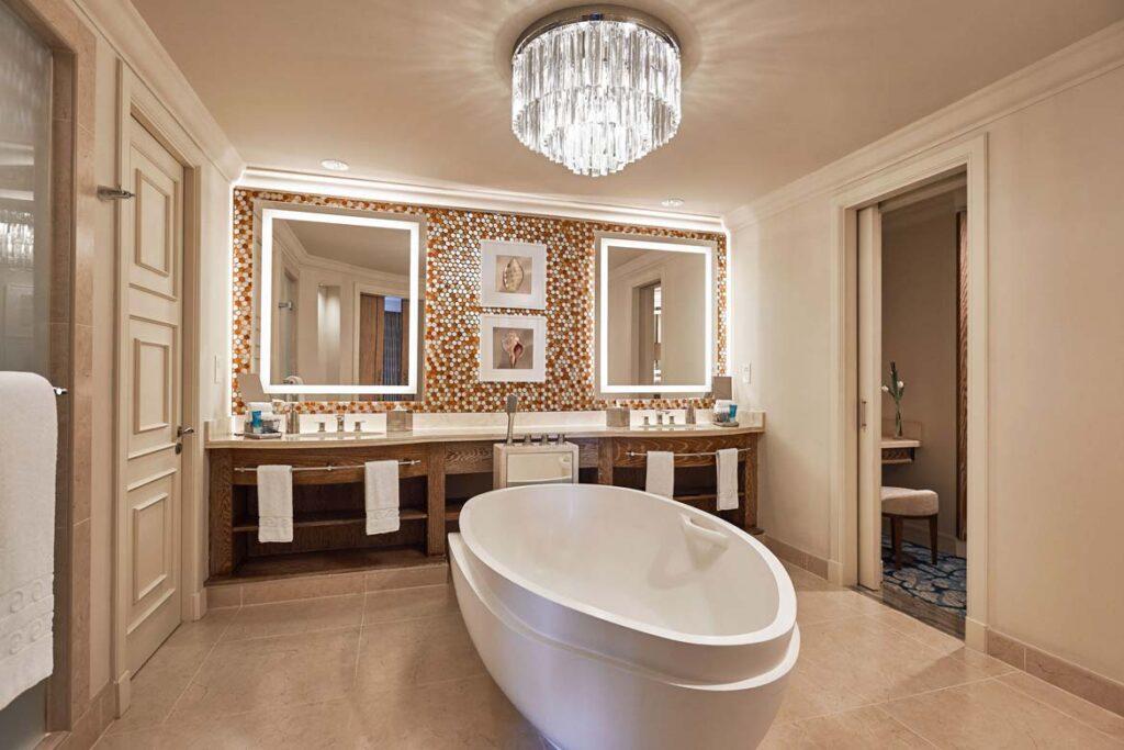 atlantis dubai terrace suite bathroom review