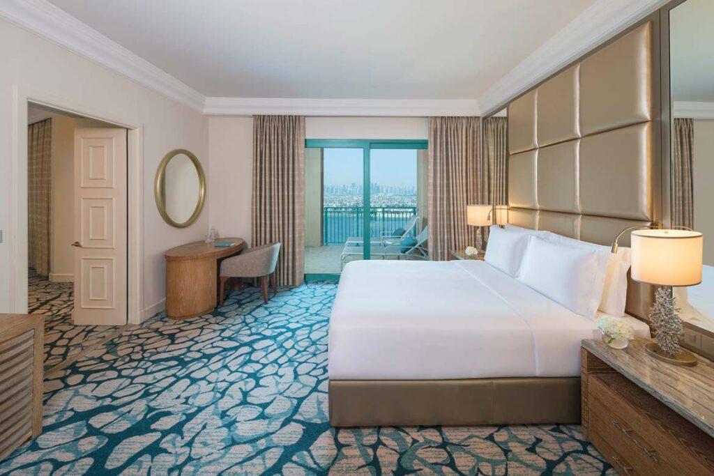 atlantis dubai terrace suite bedroom review
