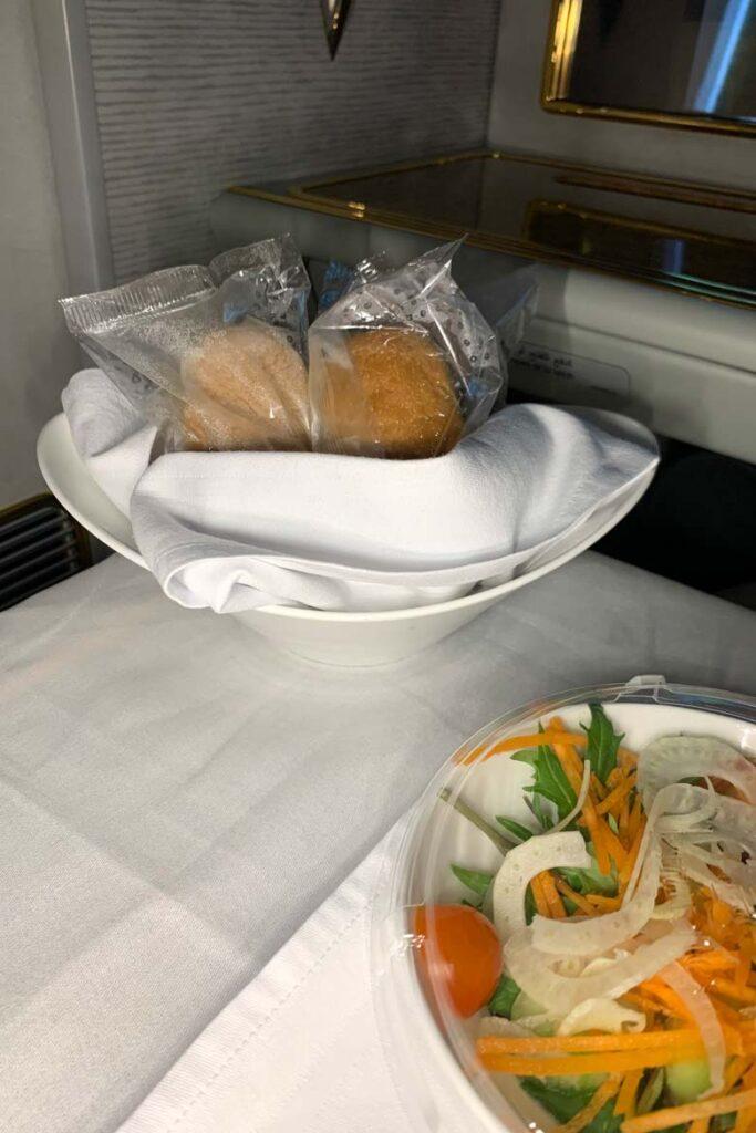 emirates first class covid menu 7